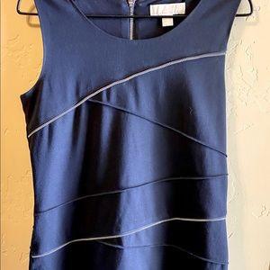Michael Kors  Women's Black Zipper Dress- size 8